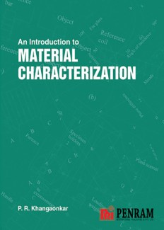 AN INTRODUCTION TO MATERIALS CHARACTERIZATION