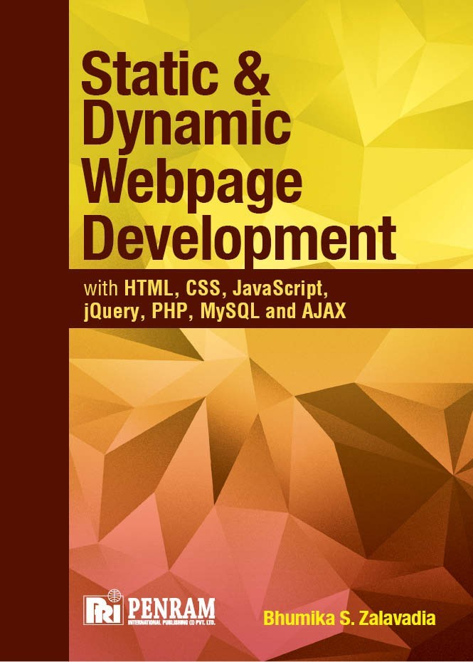 STATIC AND DYNAMIC WEBPAGE DEVELOPMENT WITH HTML, CSS, JavaScript